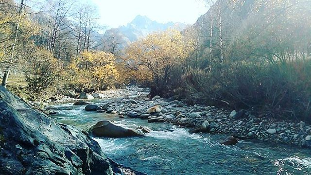 Le Vénéon, 1 Novembre 2017 #montagnes #mountains #mountainlife #automne2017