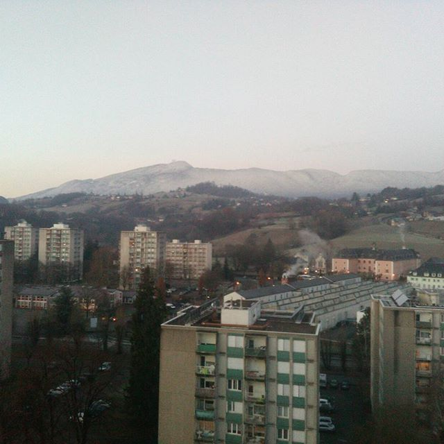 C'est l'hiver. #hiver #savoie #neige It's winter. #winter #savoy #alps #snow
