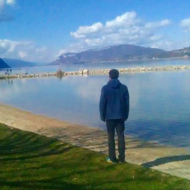 Un petit air de printemps aujourd'hui au lac du Bourget #savoie #spring #easter #montagnes #mountainlife